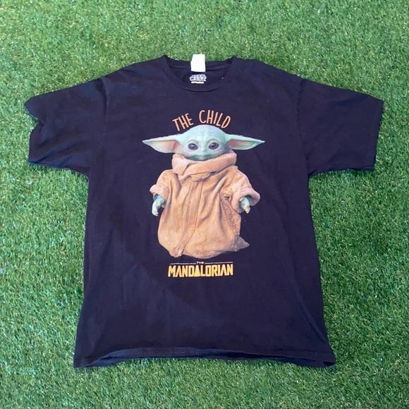 Star Wars Mandalorian the child shirt
